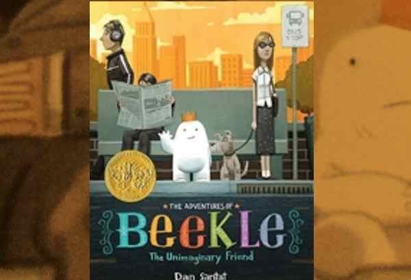 The Adventures of Beekle: The Unimaginary Friend by Dan Santat: If a child won't imagine him, then he will go introduce himself to potential children..