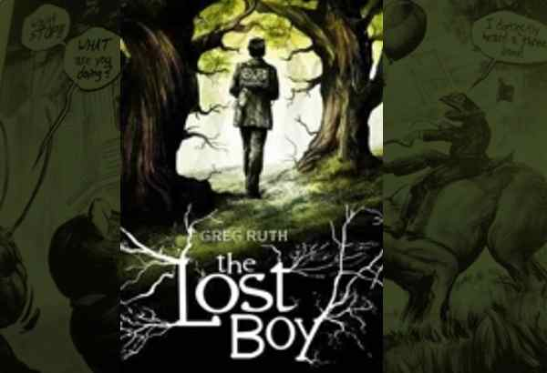 The Lost Boy by Greg Ruth: Old things revealing old stories and creating new adventures is the recipe for a book I can't resist.