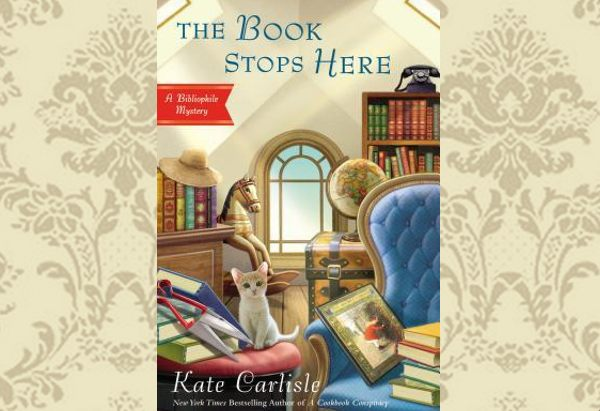 The Book Stops Here by Kate Carlisle